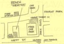 The location of The Old Police Station - Bench Theatre's home from 1970 - 1977