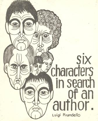 Image result for six characters in search of an author cover