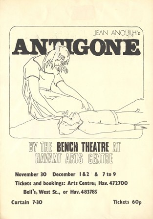 Antigone Written By Jean Anouilh