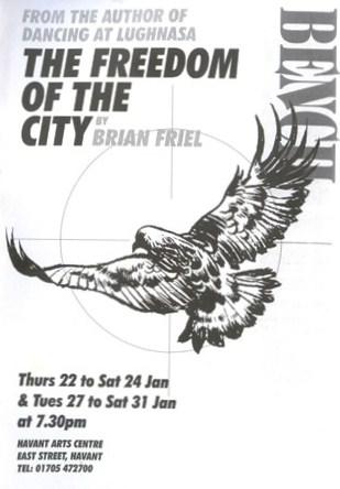 """an analysis of the character brian friel in freedom of the city Brian friel, ireland's greatest modern playwright, died on october 2nd, aged 86   his most political play, """"the freedom of the city"""" (1973), based on the judicial  inquiry that  they tried, like the characters in chekhov's plays (which he loved  and translated),  get incisive analysis on the issues that matter."""