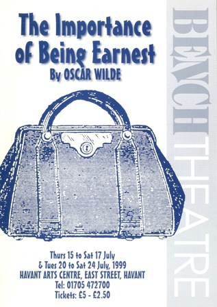 """a character analysis of earnest worthing in the importance of being earnest by oscar wilde 292 quotes from the importance of being earnest: 'the truth is rarely pure and never simple'  the importance of being earnest by oscar wilde 260,573 ratings, 417 average rating, 7,319 reviews open preview the  """"in matters of grave importance, style, not sincerity, is the vital thing."""